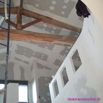 manaranche plafond cloison. Black Bedroom Furniture Sets. Home Design Ideas